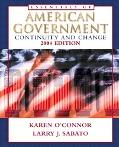 Essentials of American Government Continuity and Change 2004