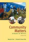 Community Matters A Reader For Writers
