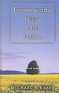 Environmental Policy And Politics