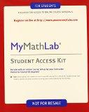 Mymathlab Student Access Kit (New Only)