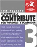 Macromedia Contribute 3 For Windows And Macintosh Visual Quickstart Guide