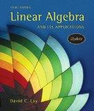 Linear Algebra and Its Applications, 3rd Updated Edition (Book & CD-ROM)