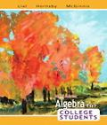 Algebra for College Students (6th Edition)