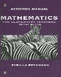 Mathematics for Elem Teachrs Plus Actv Manl