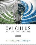Calculus and Its Applications - With Mystatlab
