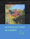 Introductory Algebra (9th Edition)