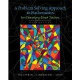A Problem Solving Approach to Mathematics for Elementary School Teachers plus MyMathLab Stud...
