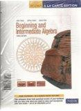 Beginning &Intermediate Algebra, Books a la Carte Edition (3rd Edition)