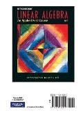 Intro Linear Algebra, Books a la Carte Edition (8th Edition)