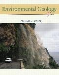 Books a la Carte for Environmental Geology (9th Edition)