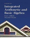 Integrated Arithmetic and Basic Algebra (5th Edition)