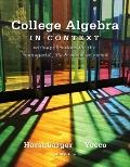 College Algebra in Context (4th Edition)