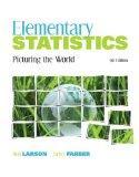 Elementary Statistics: Picturing the World plus MyMathLab/MyStatLab Student Access Code Card...