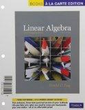 Linear Algebra and Its Applications, Books a la Carte Edition (4th Edition)