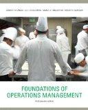 Foundations of Operations Management, Third Canadian Edition with MyOMLab (3rd Edition)