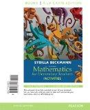 Mathematics for Elementary Teachers with Activities, Books a la carte edition (4th Edition)