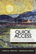 Quick Access : Reference for Writers with NEW MyCompLab Student Access Code Card