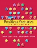 Business Statistics: A First Course plus MyStatLab with Pearson eText -- Access Card Package...