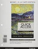 Quick Access Reference for Writers, Books a la Carte Edition Plus MyWritingLab with eText --...
