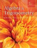 Algebra and Trigonometry (5th Edition)