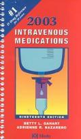 Intravenous Medications 2003