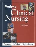 Mosby's Clinical Nursing