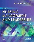 Guide to Nursing Management and Leadership, 8e (Guide to Nursing Management & Leadership (Ma...