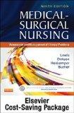 Medical-Surgical Nursing - Single-Volume Text and Elsevier Adaptive Quizzing Package, 9e