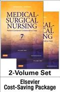 Medical-Surgical Nursing -- Two-Volume Text and Elsevier Adaptive Quizzing Package, 7e