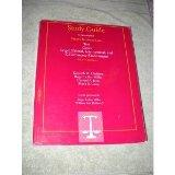 Study Guide to Accompany Wests Business Law: Text Cases Legal Ethical International and E-Co...