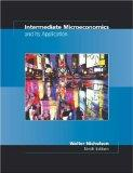 Intermediate Microeconomics and Its Application With Economic Applications Card and Infotrac...