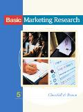 Basic Marketing Research With Infotrac