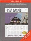 Small Business Management: Launching & Growing Entrepreneurial Ventures (14th Edition) [Inst...