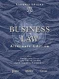Business Law, Alternate Edition