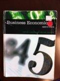 Business Economic (MECO 6303)