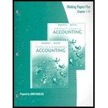 Financial and Managererial Accounting - Working Papers Plus 1-15