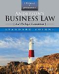 Anderson's Business Law (And The Legal Environment) Standard