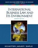 International Business Law and Its Environment (South-Western Legal Studies in Business Acad...