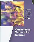Pkg: Quantitative Methods for Business + Student