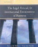 Legal, Ethical and International Environment of Business (with InfoTrac Re-Bind)