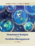 Investment Analysis and Portfolio Management (with Thomson ONE - Business S