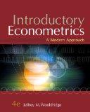 Introductory Econometrics: A Modern Approach (Book Only)