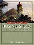 Anderson's Business Law and the Lega