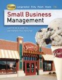 Small Business Management: Launching and Growing Entrepreneurial Ventures (with Online Premi...
