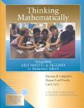 Thinking Mathematically Integrating Arithmetic and Algebra in Elementary School