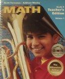Scott Foresman - Addison Wesley Grade 6 Teacher's Edition. Volume 1