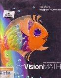 ENVISION MATH TEACHER'S PROGRAM OVERVIEW GRADE K