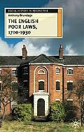 English Poor Laws, 1700-1930