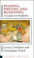 Reading, Writing and Reasoning A Guide for Students