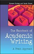 Handbook of Academic Writing A Fresh Approach